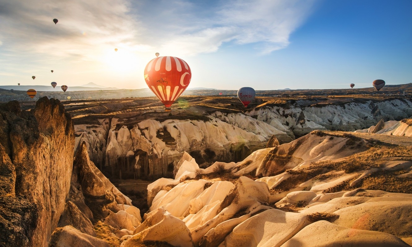 Rose Valley, Cappadocia, Turkey